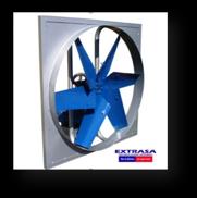 Extractor/inyector tipo hélice axial Modelo PH