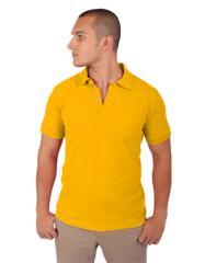 Camisa Tipo Polo - amarillo hombre