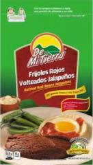Frijoles Rojos Volteados Jalapeños