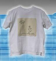 Camisetas de Tela de Algodón