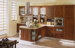 Gabinetes de cocina, closets y muebles de baño de madera