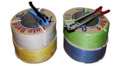Fleje plástico de polipropileno para uso manual y