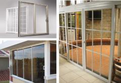 Puertas Corredizas (Aluminio y PVC)