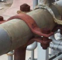 Soportes para tubería de diversos tipos
