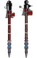 Bombas tipo turbina de eje vertical y sumergibles