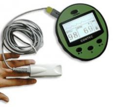 Oximetro de pulso manual