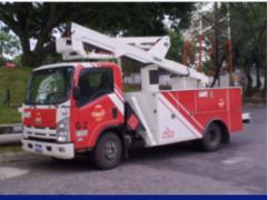 Camiones con Canasta aérea tipo sst-37-eih