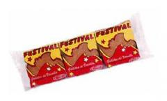 Galleta dulce con sabor a Vainilla Festival