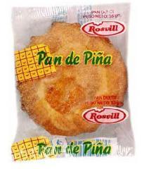 Pan dulce tradicional de piña