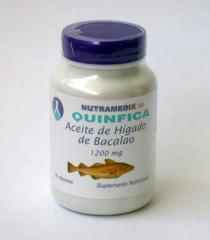 Bacalao Aceite de Higado Frasco 90