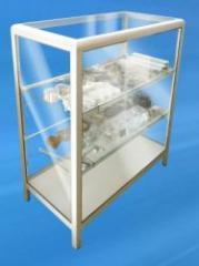 Vitrinas elaboradas con perfiles de aluminio