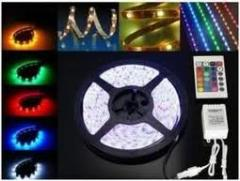 Luminarias Strip LED rollo de 10 mts