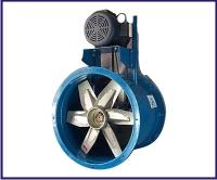 Ventiladores Turboaxiales Ae-12,16,18,24 y 34 Pulgadas