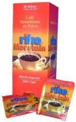 Café instantaneo en polvo marca Riko