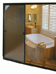 Traditional Sliding Bathroom Door