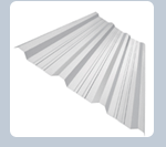 Sistema de techo de acero con recubrimiento
