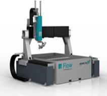 Maquinas de corte por agua Marca Flow