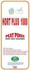 Sustrato Fertilizante Peat Pinus Hort Plus 1000