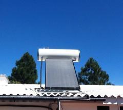 Calentador solar de la marca H2O