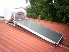Calentador solar Compacto  para 6 personas. 200