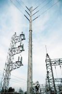 Postes de concreto para transmisión