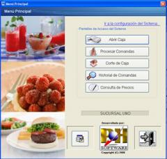 Software for food service