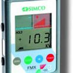Medidor de voltajes de carga estática entre +/-
