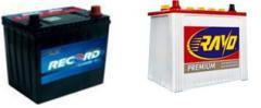Baterías Record y Rayo