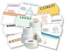 Etiquetas para precio adhesivas