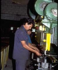 Equipment for metal working