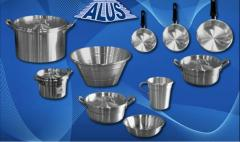 Artículos de cocina en Aluminio Línea para el