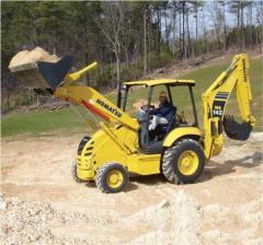 Retro excavadoras Komatsu WB142-5
