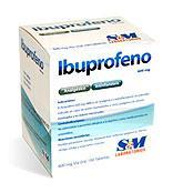 Analgésico Ibuprofeno S&M