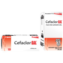 Cefaclor 500 mg y Cefaclor 250 mg /5 mL