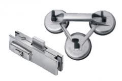 Herrajes y accesorios para la industria del vidrio