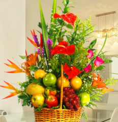 Arreglos Frutales » Flores Primavera