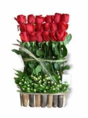 """Arreglo de Rosas """"Cinta Rosa"""""""