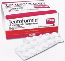 Clorhidrato de Metformina Teuto