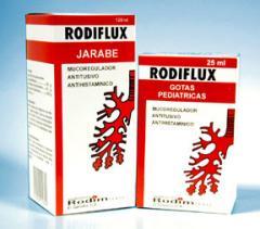 Rodiflux (Gotas Pedíatricas) Rodiflux (Tabletas)