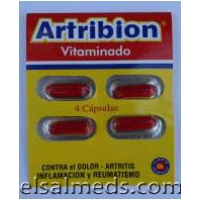 Analgesico Artribion capsulas
