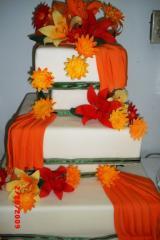 Torta Boda en Naranja