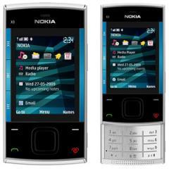 Telefono Móvil Nokia x3