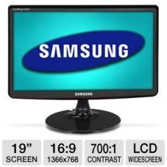 """Monitor Pantalla Plana Samsung 18.5"""""""