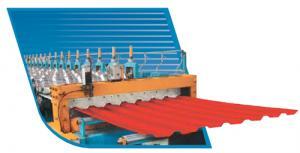 Roofing sheet corrugated, aluminium
