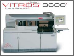 Sistema de inmunodiagnóstico Vitros 3600