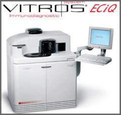 Sistema de inmunodiagnóstico Vitros Eci