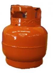 Cilindros para transportar gas licuado de petróleo