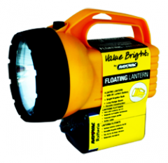 Linterna resistente al agua y a los golpes