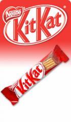 Kit Kat®, chocolate relleno de crujiente galleta Nestlé