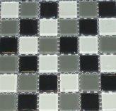 Mosaico Vidrio Negro